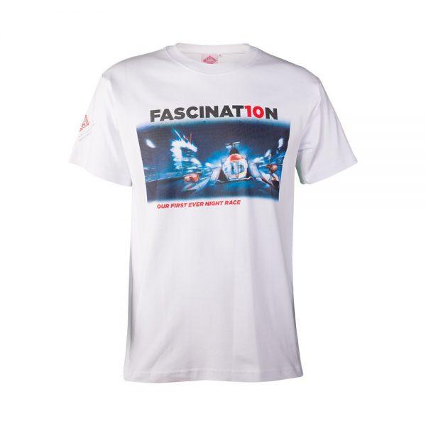 Round Neck T-shirt FASCINATION White