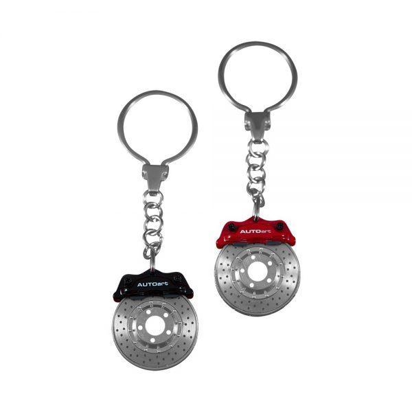Disc Brake Key Chain – Red