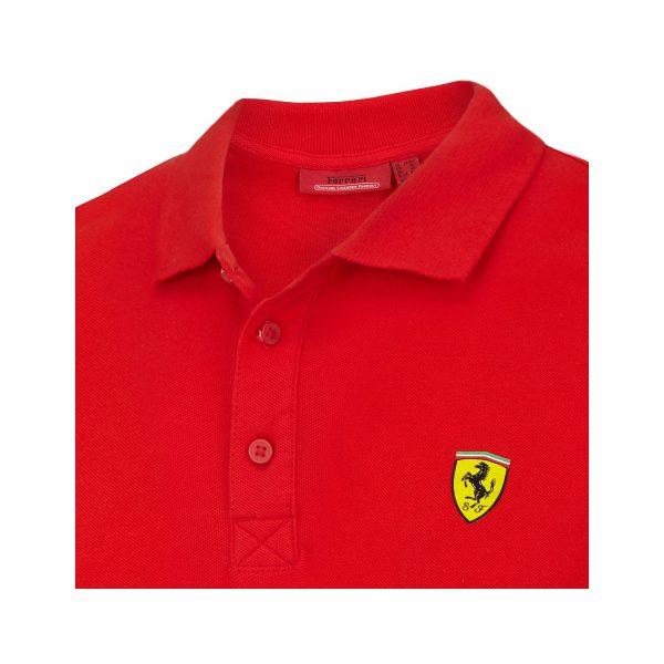 Ferrari F1 Men Classic Polo shirt Red