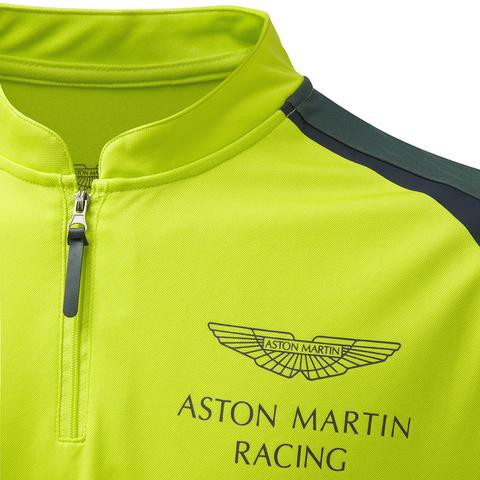 NEW ASTON MARTIN RACING GREEN POLOSHIRT