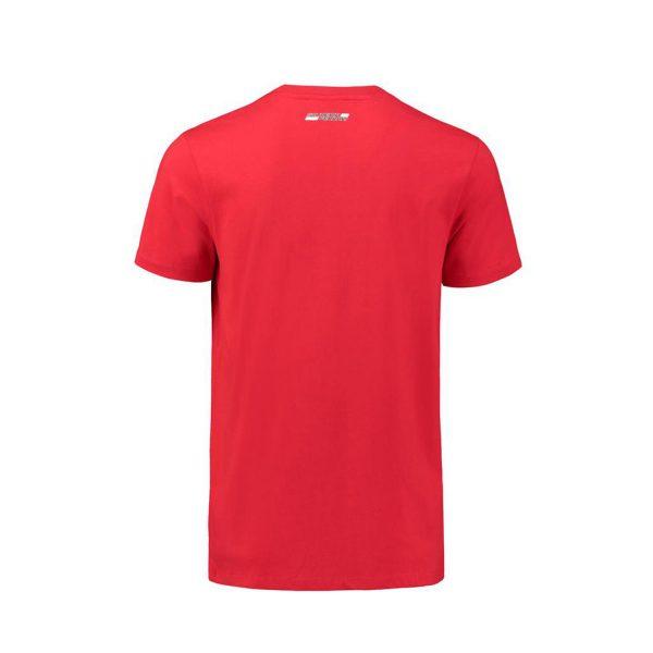 Men's Car Graphic T-Shirt Red 2018 Scuderia Ferrari