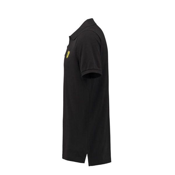 Men's Classic Polo Shirt Black 2018 Scuderia Ferrari
