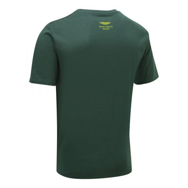 Aston Martin Racing Men's Car T-Shirt Green ADULT