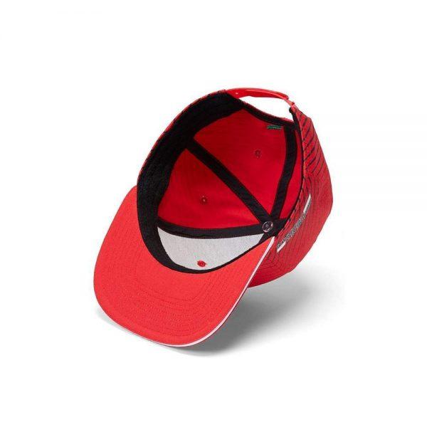 Scuderia Ferrari Fanwear Sebastian Vettel Flat Brim Cap