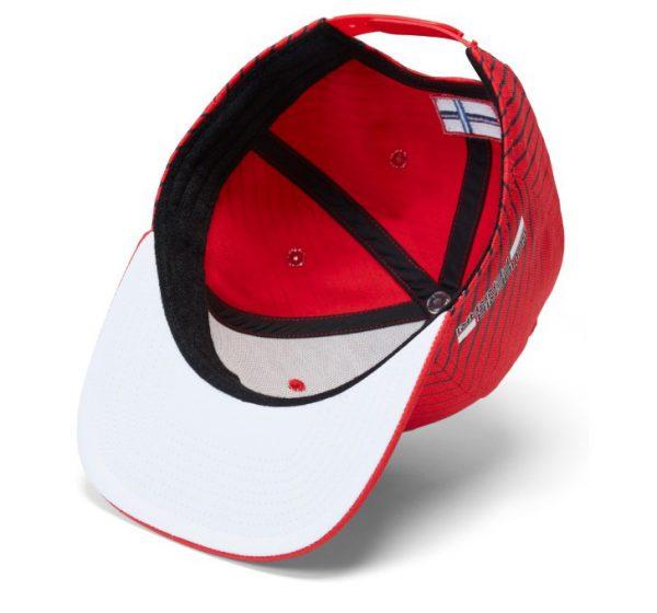 Scuderia Ferrari Kimi Raikkonen 2018 Formula 1 Authentic Red Flatbrim Hat