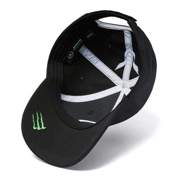 2018 Mercedes AMG Petronas Lewis Hamilton Baseball Cap - Men - Black